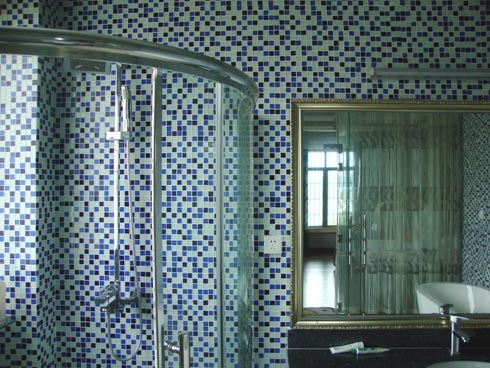 Neuank mmling dekoration holz mosaik fliese f r dusche - Dekoration mosaik ...