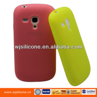 OEM Candy Colors Silicone Soft Shell Case for Samsung S3 Mini