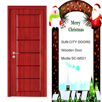 SC-W021 Top quality low price main teak wood door carving design models