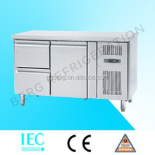 Cheap price commercial two drawers one door refrigeration equipment restaurant chicken equipment