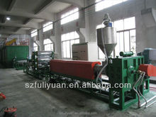 XPE Chemical Crosslink PE Foam Production Line, XPE cross-linked foam sheet machine, xpe foam machine