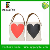 Canvas Tote Bag for Women with Customized Logo Print