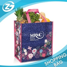 Eco-Friendly Folding Non Woven Low Price Laminated Photo Print Trolley Shopping Bag Vegetable