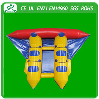 2015 new design inflatable flying fish for water games