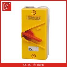 IP66 waterproof box with safety battery isolator switch factory wholesale, low price