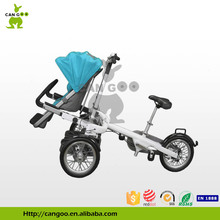 Big Wheel Cargo Tricycle Baby Carriage Bicycle Mom Pram For Sale