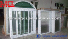 pvc double glazed design of window for houses