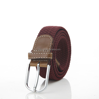 Fashionable Nylon Webbing Canvas Belt For man