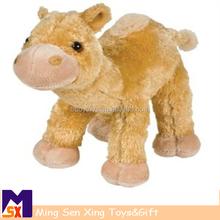 custom cute stuffed toy animal clockwork plush alpaca with cheap price