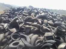 Butyl Bladder Rubber Scrap