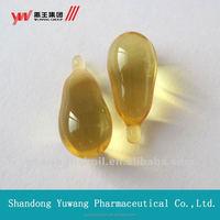 flax seed oil soft capsules/softgel