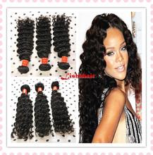 7A Unprocessed Brazilian Malaysian Peruvian Indian Deep Curly Wave Virgin Hair 100% Unprocessed Human Hair Deep Curly Virgin Hai