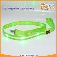 Popular led dog leash for pet product distributor TZ-PET6102