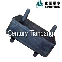 SINOTRUK HOWO HEAVY DUTY TRUCK CHASSIS PARTS WATER TANK RUBBER SUPPORT AZ9719530272