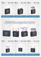 CBB61 Fan Capacitor 3uf capacitor ,cbb61 12uf 450vac ac motor run capacitor