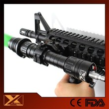 Rechargeable green laser light 100mw rifle air gun hunting