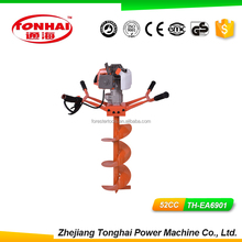 TH-EA6901 52CC gas powered post hole digger for tree transplanting one man auger for sale