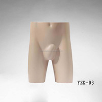 hot sale sexy underwear torso male mannequin for clothes display
