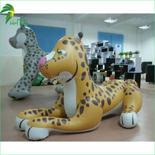 Custom Advertising Funny & Lovely Promotion Inflatable Cartoon Leopard Model