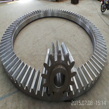 Spur ring bevel gears Heavy Duty Gears Max Diameter 8M / casting segments bevel gears