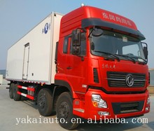 cargo truck insulated box bodies coated refrigerated van body