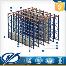 Superior Quality ISO Standard Drive In Racking For Warehouse Systems Racking