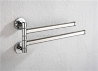 W2 wall mounted folding towel bar for bathroom removable towel bar
