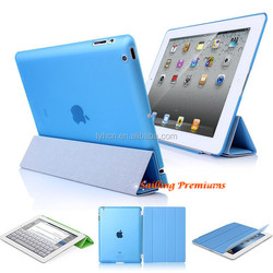 """Luxury PU Leather Case For iPad 4 3 2 Magnetic With Stand Cover Case 9.7"""" Tablet Design Smart Auto-Sleep Flip Style Shell"""