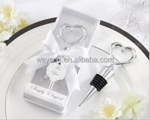 wedding favor gifts-Simply elegant Heart Love Bottle Stopper