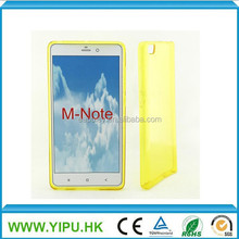 Crystal clear Transparent soft Tpu case for Xiaomi Note Silicon Gel Skin cover
