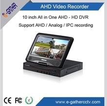 4ch h. 264 todo-en-un dvr nueva tecnología ahd dvr con hdmi p2p onvif