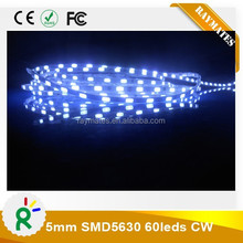 5mm width 5630 led strip light 12V nonwaterproof IP20 CE RoHS
