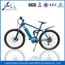 Mid drive electric mountain racing bike with low prices