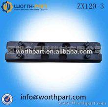 De goma zx120-3 esterasdecoches excavadora de oruga de goma esterasdecoches