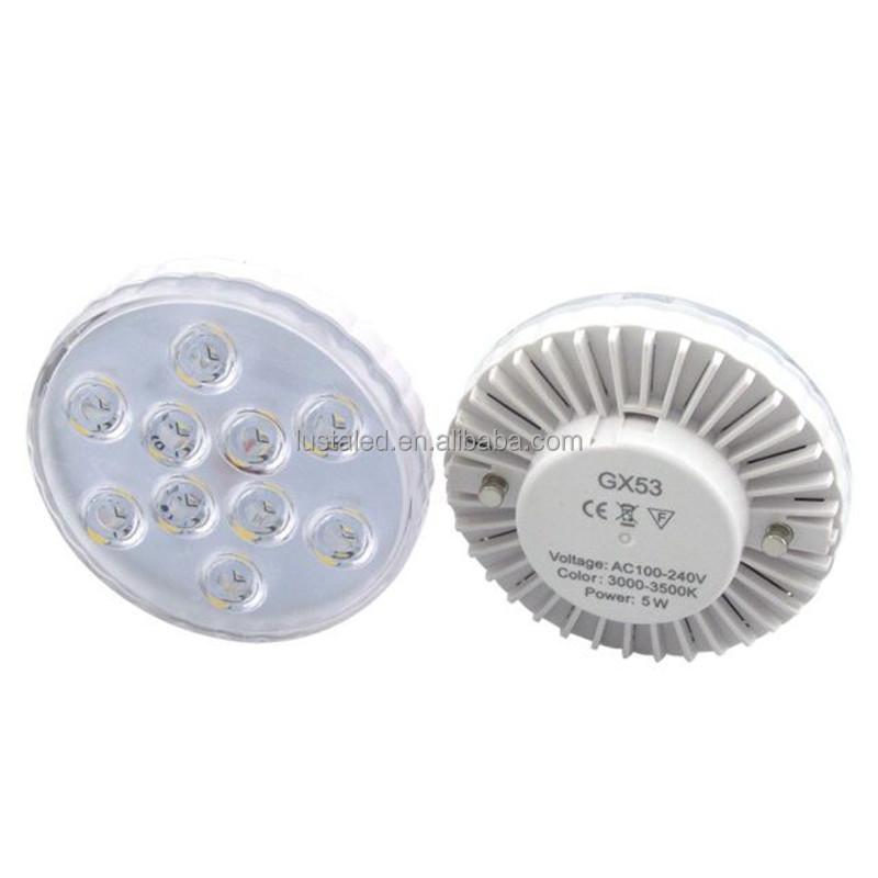120v gx53 led puck light buy led under cabinet light gx53 led led. Black Bedroom Furniture Sets. Home Design Ideas