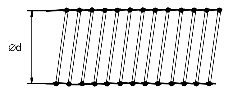 hvac heat resistant aluminum air duct pvc air flexible