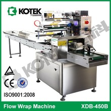 Alibaba Bakery Industry Pillow Type Pack Automatic Packaging Equipment Horizontal Flow Packing Machine For Food