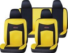 Guangzhou PU Leather+Mesh car seat cover popular design with customer design