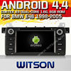 WITSON Android 4.4 car dvd for BMW E46 1998-2005 WITH CHIPSET 1080P 8G ROM WIFI 3G INTERNET DVR SUPPORT