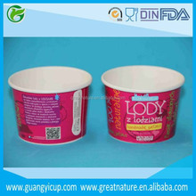 kağıt yoğurt konteyner tek tatlı kabı