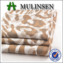 Mulinsen Textile Hot Sale European Market 100% Cotton 40s Poplin Fabric With Animal Print