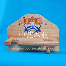 decorativos 2014 estantes de madera con ganchos