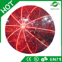2016 Hot Sale Christmas Decorate sparkle outside inflatable ball,shine huge inflatable balls,glow large inflatable beach balls