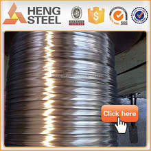 0.3mm-3.15mm Hot dipped galvanized steel wire for Armored cable