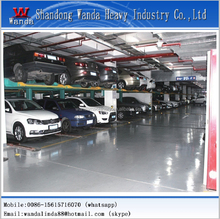 Automatic non avoilding car parking system--no need to wait or avoid while parking or retrieving the car