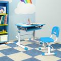 Atractivo pupitre individual de metal y muebles de silla C305