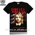 Led zeppelin ac dc metallica the beatles nirvana guns n' rosas rock impresa camisas para hombre t- shirt camiseta manga corta