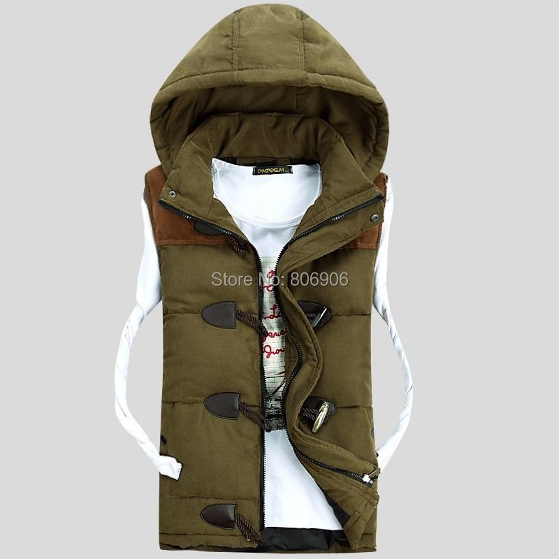 2013 winter men casual sleeveless vest fashion high