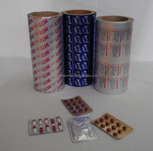 Pharma packing for capsule use 8011 H 18 aluminium foil printed
