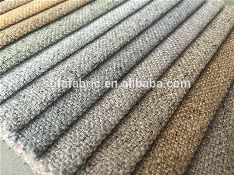 100 Polyester Stiff Mesh Fabric For Sofa Linen Fabric